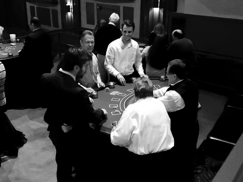 Fully staffed Casino events